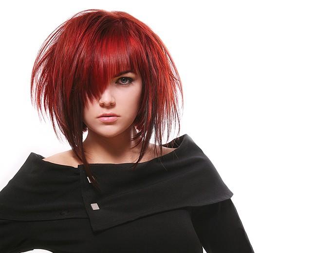 женские креативные прически на средние волосы