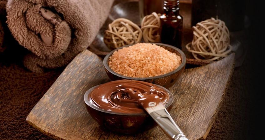 Шоколадный педикюр