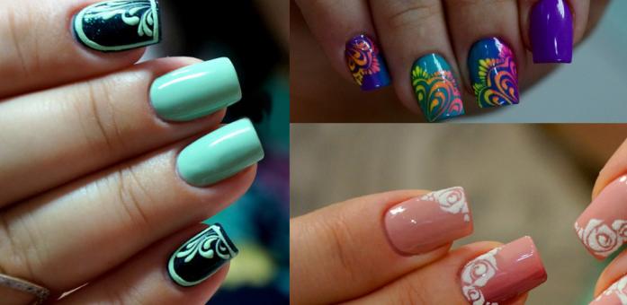 Фото ногти классический дизайн