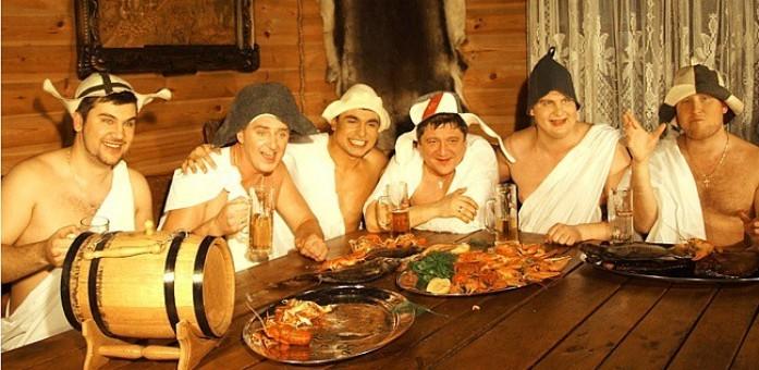 фото мужиков в бане